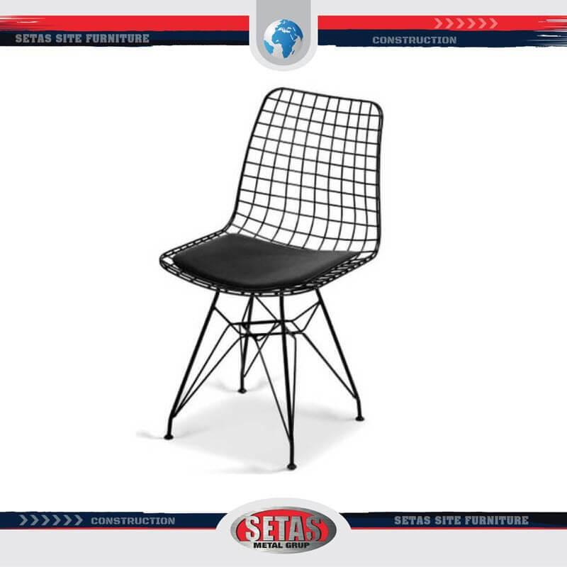 Örgülü Metal Sandalye